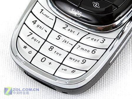 小巧精致明基西门子滑盖手机SL75评测(6)