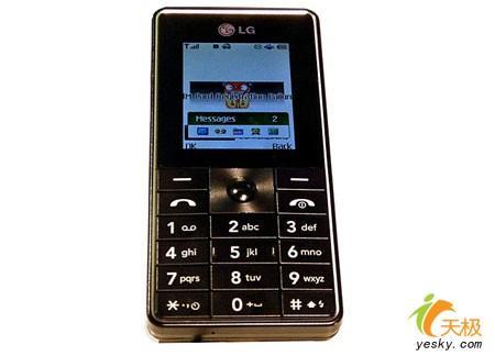 200M大内存LG巧克力新机U830亮相