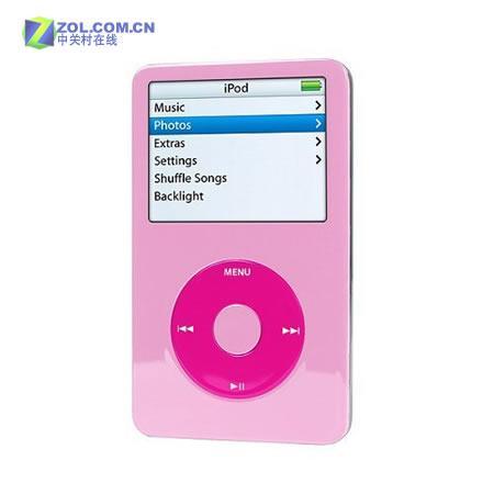 粉红惹得祸30GB版iPod售价涨90美元