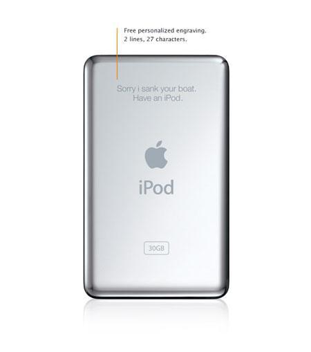 苹果iPodvideo2报价80GB只要2780元
