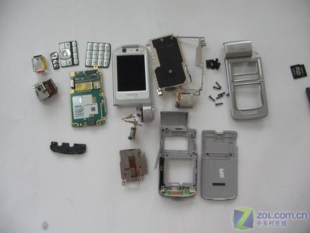 探索蔡司之旅诺基亚320万像素N93真机拆解