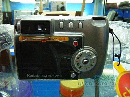 廉价小数码柯达Z730相机只卖1750元