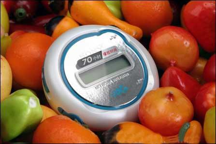 索尼MP3仅售399元E103可播放70小时