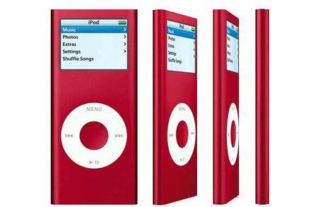 红色版苹果iPodnano真机精美图欣赏(10)