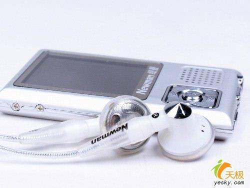 外放出色纽曼M861金属真彩MP3不足三百