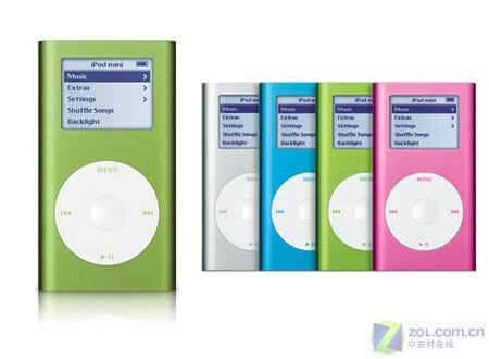 五周年纪念历代苹果iPod家族成员大观(3)