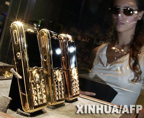 全世界最昂贵手机售价140万欧元(组图)
