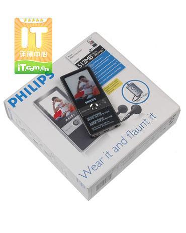 简约的黑色时尚飞利浦视频MP3试用记