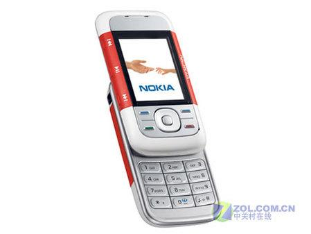 音乐诱惑诺基亚5300灰色版送512MB卡