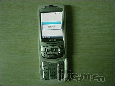 时尚滑盖唯开可遥控手机VK900不足千元