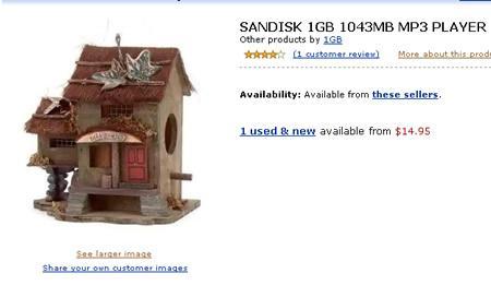 价值15美金的Sandisk新奇小屋MP3亮相