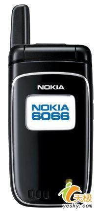 时尚翻盖小巧实用诺基亚发布CDMA新品6066