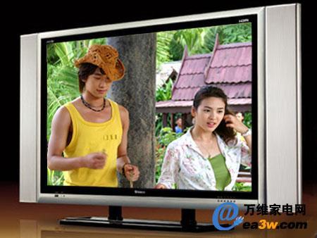 电视机身采用了高档的钛合金材料