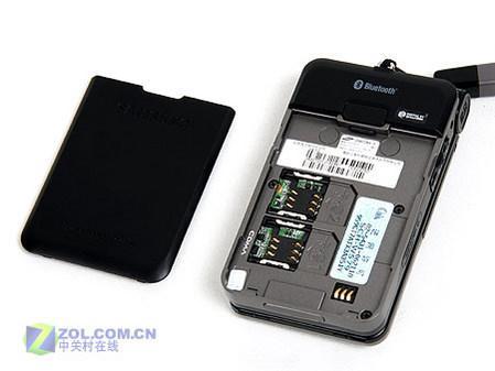 另类时尚三星双网双待手机W579评测(5)