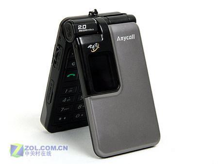 另类时尚三星双网双待手机W579评测