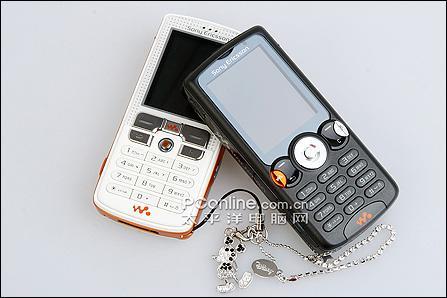 黑色诱惑索爱音乐强机W810c售2599元