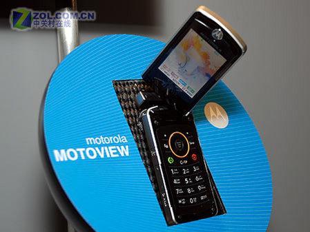 双转轴设计摩托DMB翻盖机MOTOVIEW试用