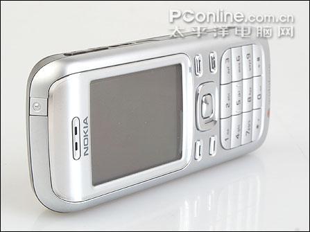 尽戴银甲诺基亚金属直板3G手机6234评测