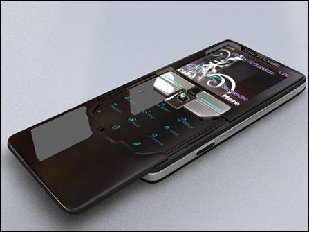 320万像素索爱巧克力概念手机梦幻曝光