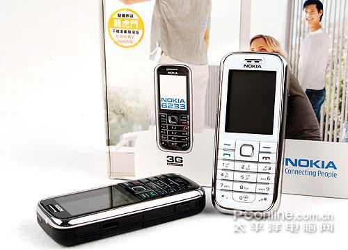 直板S40机王诺基亚6233白色版图赏