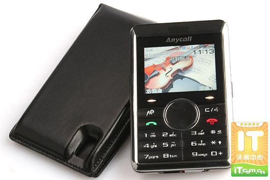 创意设计三星卡片手机P318详细评测