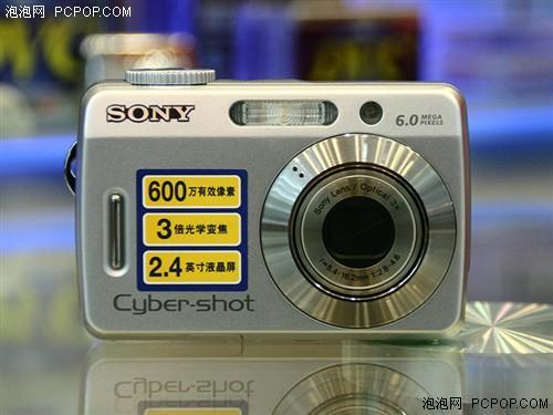 低端新局面索尼600万像素相机跌进千元