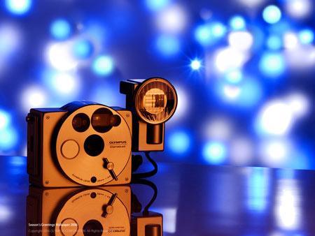 喜迎新年奥林巴斯释放精美相机壁纸(2)