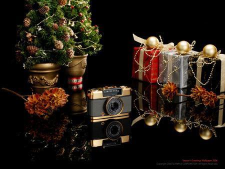 喜迎新年奥林巴斯释放精美相机壁纸