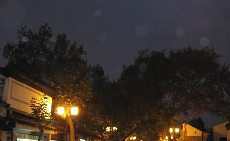 避免白斑夜晚DC拍摄需要注意的问题