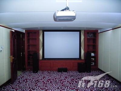 造价二十五万元别墅家庭影院组建实例