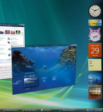 WindowsVista十大改进搜索成新亮点(图)