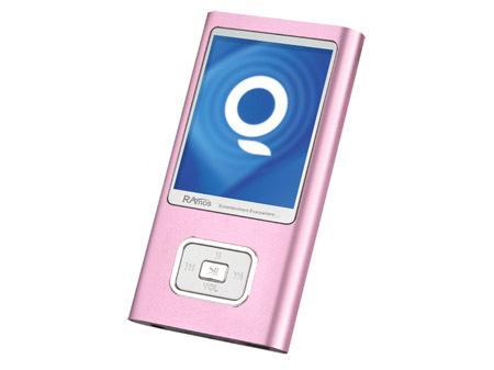 红粉佳人五个粉色情人款MP3播放器推荐