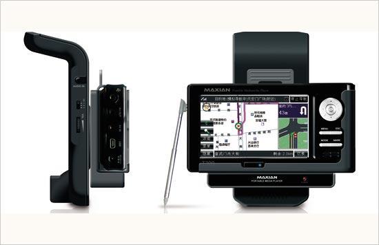 轻车熟路不迷路带GPS导航MP4播放器推荐