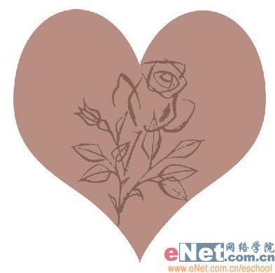 素描玫瑰步骤图解
