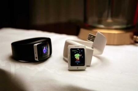 时尚一点通最新设计的手表MP3产品