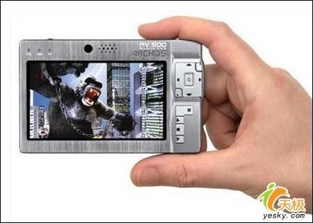 大视野的精彩诱惑高端硬盘MP4新春之选