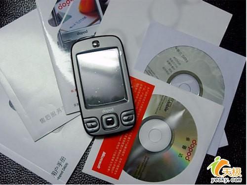 圆润可爱多普达PPC手机D600降至3499