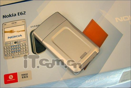 超薄全键盘诺基亚宽屏商务E62售3890