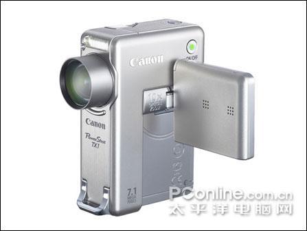 10倍光变高清摄录佳能发布数码相机TX1