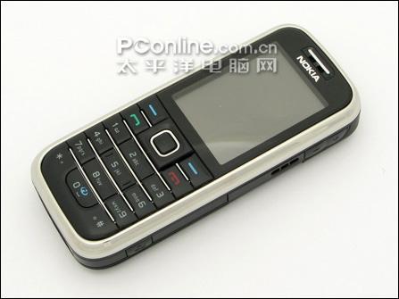 不锈钢外壳诺基亚3G直板6233仅售1799