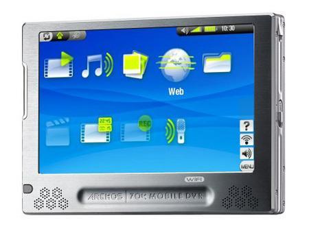 大屏幕结合高性能五款国外MP4热力推荐