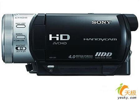 高清硬盘式DV索尼SR1E降价促销11000