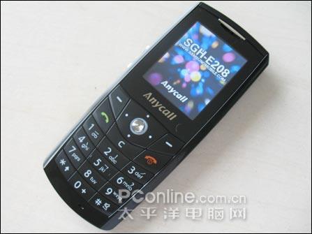 时尚先锋 三星纤簿直板新机E208卖1480_手机