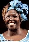 肯尼亚环保主义者玛塔获得2004年度诺贝尔和平奖