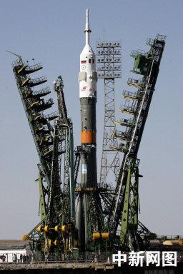 科技时代_组图:俄联盟号飞船即将升空前往国际空间站