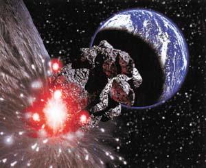科技时代_美国科学家大胆假设:用小行星撞出火星生命