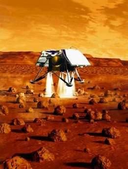 科技时代_NASA称失踪6年火星极地登陆者号残骸被发现