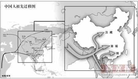 科技时代_基因研究揭示人类迁移 中国人祖先源于东非