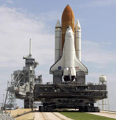 发现号航天飞机因技术原因推迟发射;; 发现号航天飞机重返太空专题