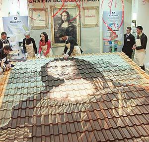 科技时代_俄艺术家拼凑世界上最大的蒙娜丽莎画像(图)